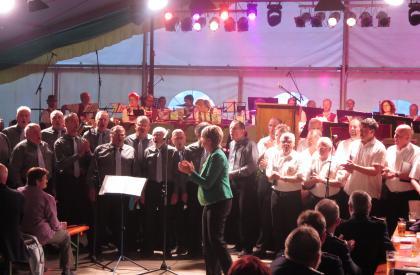 Auftritt am Schul- und Heimatfest Colmnitz 2016